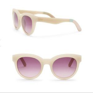 Toms traveler Florentin 52mm cat eye sunglasses